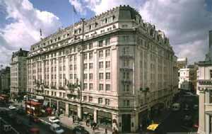 Strand Palace hotel, Charing Cross and The Strand